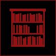 Стеллажи для книг из дерева