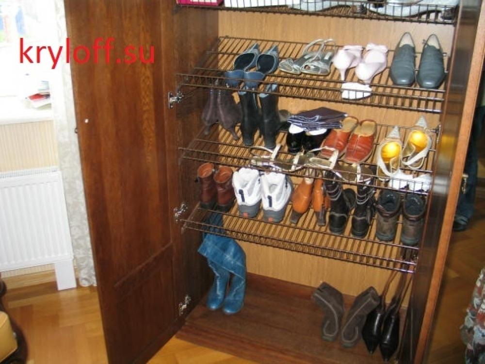 014 Дополнительные полки для обуви в шкаф