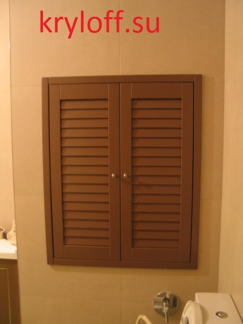 004 Строительные дверки в санузле из МДФ