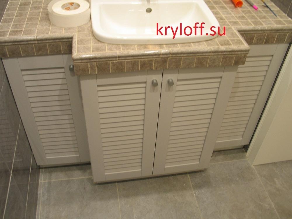 006 Мебель под раковину в ванной комнате