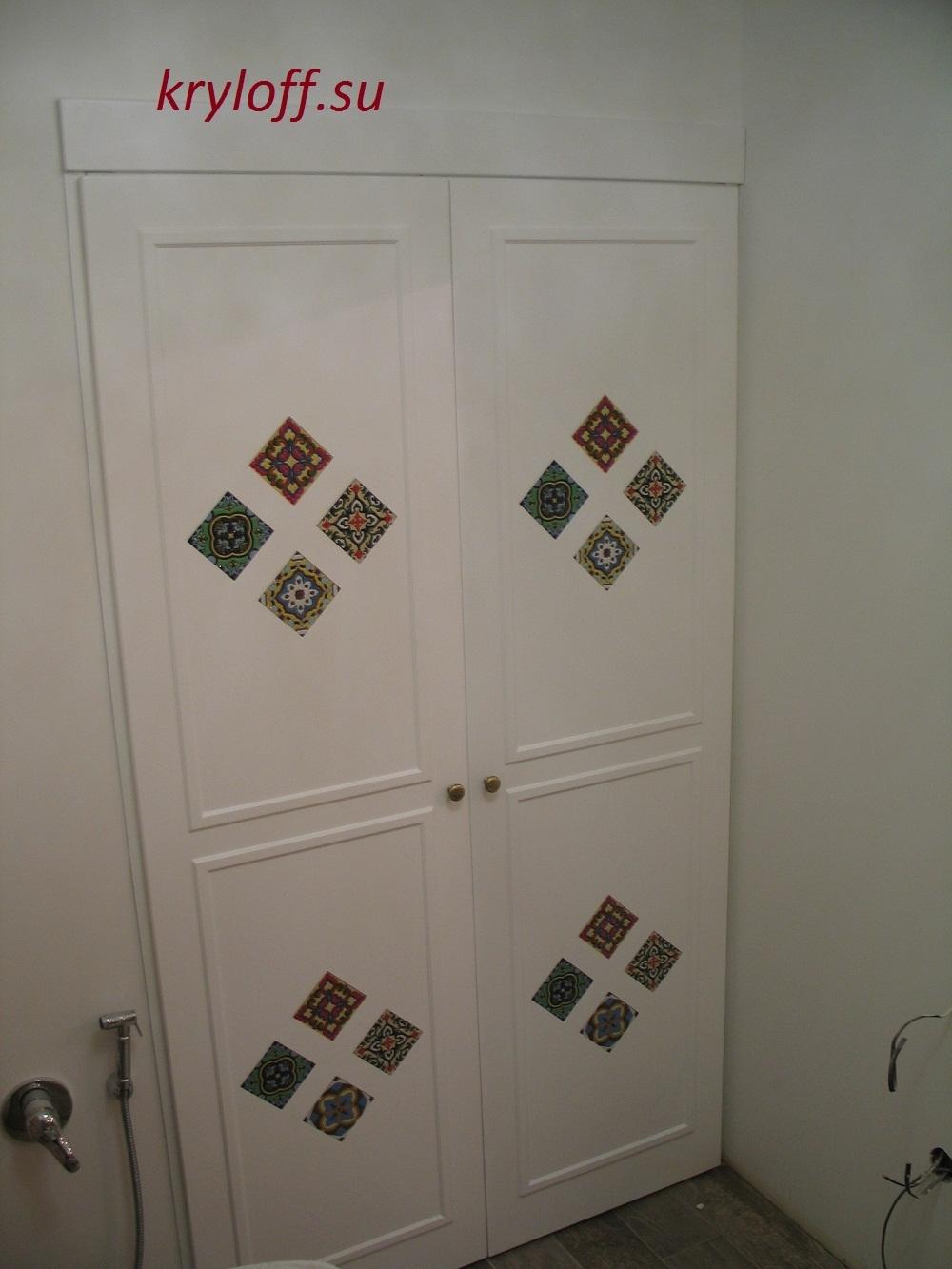 011 Дизайнерские дверки для стиральной машинки.