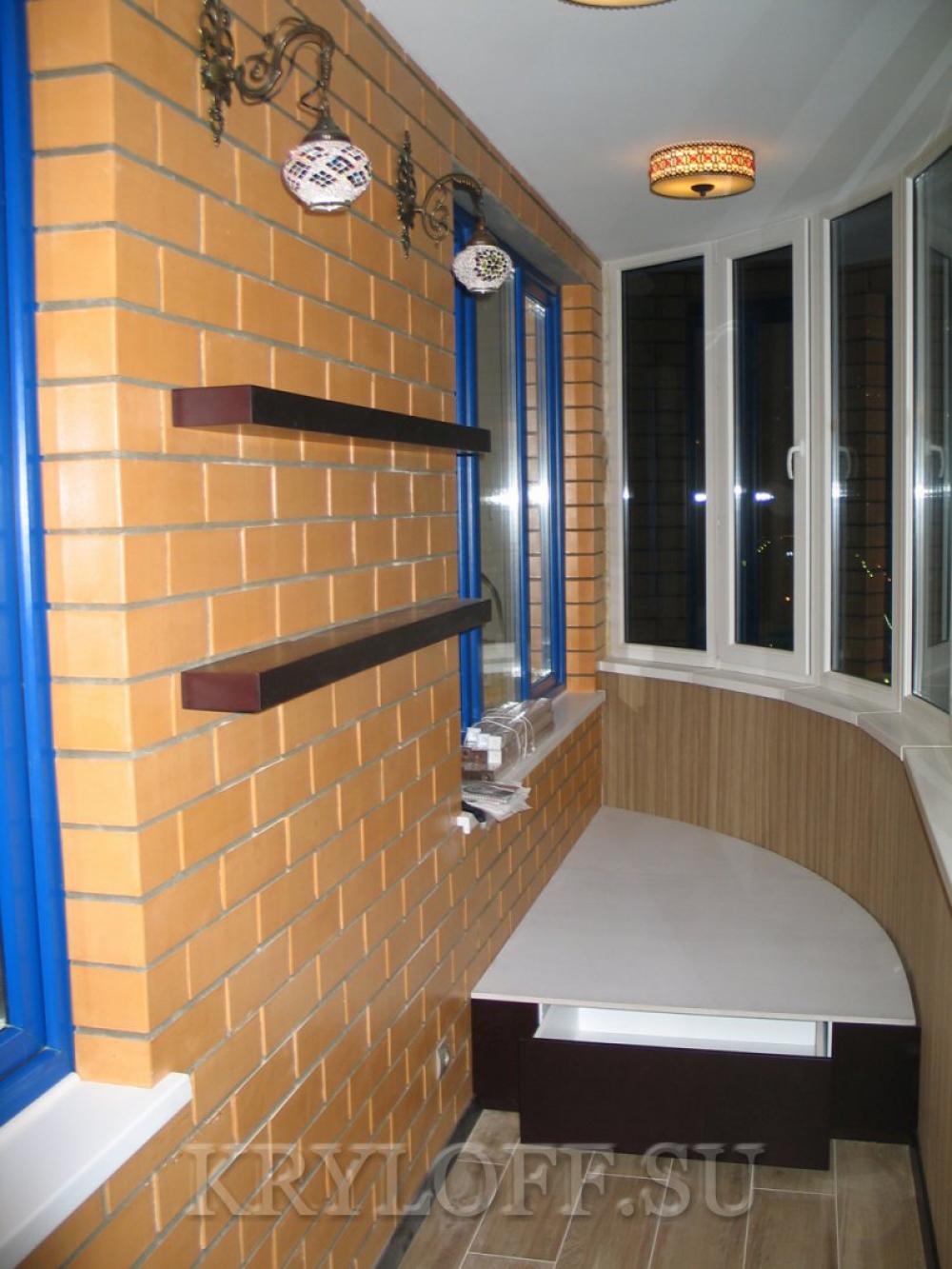 004 Полка на балкон
