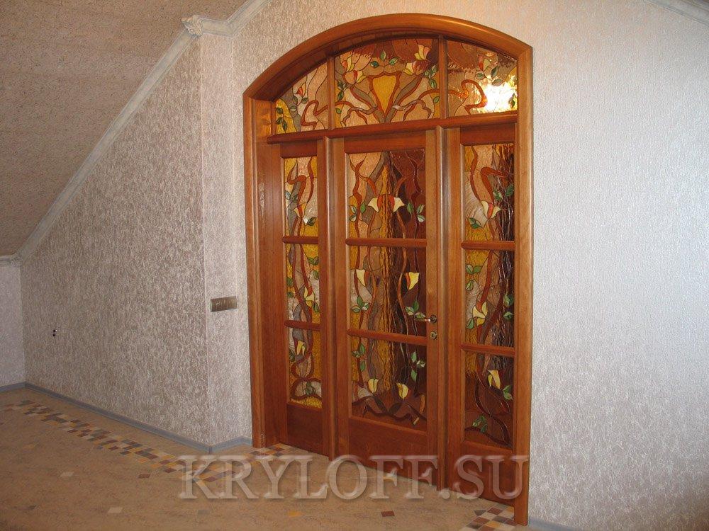 Дверь из дерева 13