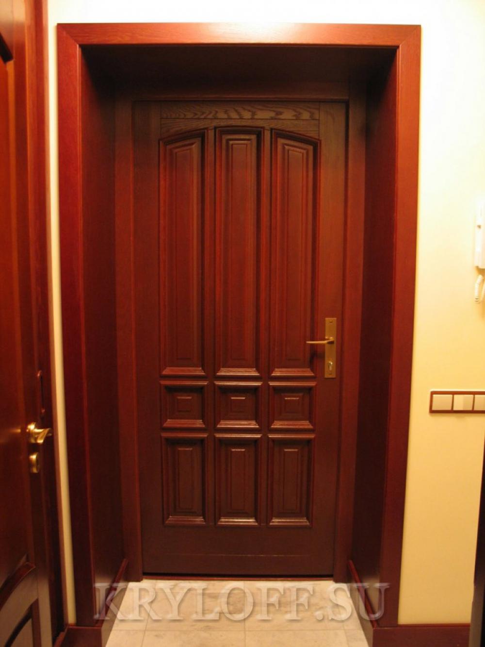 Облицовка дверного проема 03