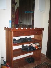 011 Консоль для обуви с ящиками
