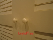 008 Дверки для гардеробной с фрамугой