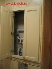 027 Дверки для санузла распашные на заказ