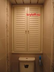 001 Дверцы жалюзийные в нишу санузла.