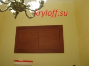 011 Антресольные дверки из дерева