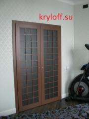 010 Дизайнерские дверки для гардеробной