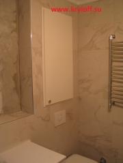 022 Дверка с коробкой и наличником в ванную комнату