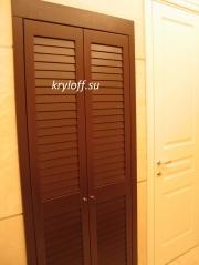 002 Дверки жалюзийные для ниши