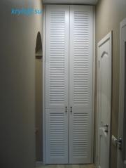 007 Дверки белые крашеные