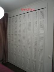 014 Складные жалюзийные дверки