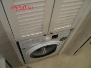 001 Шкаф в нишу для стиральной машинки