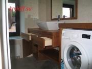 010 Мебель из тика для стиральной машинки