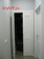 006 Двери с жалюзийными решетками из МДФ на заказ
