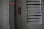 011 Раздвижные двери в шкаф с антресолью.