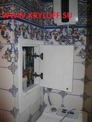 011 Дверка в стену на заказ крашеная