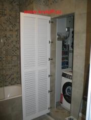 002 Жалюзийная дверь без коробки и наличника