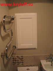 030 Ревизионный люк в ванную комнату на заказ из мдф