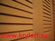 007 Реечные фасады для ниши из МДФ