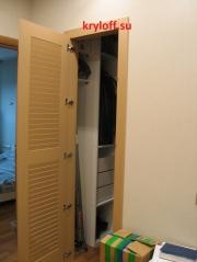 029 Одинарная дверка в гардеробную