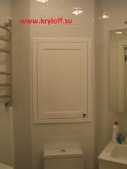 028 Двери в туалет на стену на заказ в Москве