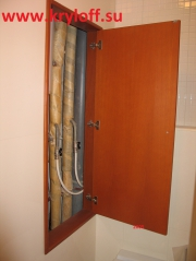 008 Дверь над унитазом на заказ