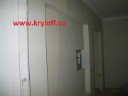 013 Встроенный шкаф с люком на заказ из мдф