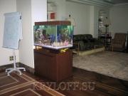 Облицовка аквариумов деревом 5