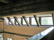 Деревянный потолок 12